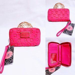 Marc By Marc Jacobs Bags - Marc Jacobs Logo Wristlet Wallet, Fuchsia🦄💋